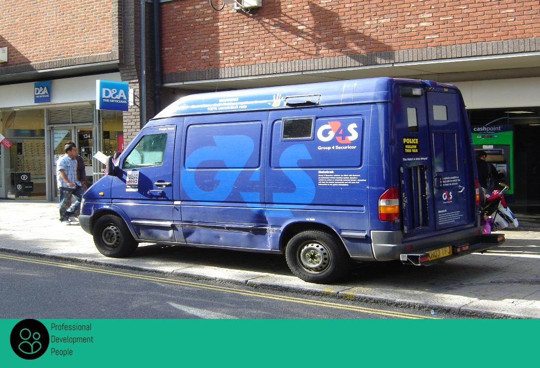 G4S cash Van